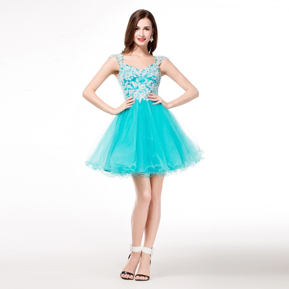 Popular Light Blue Homecoming Dresses-Buy Cheap Light Blue ...