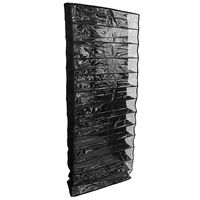 26 pares sobre porta pendurado suporte de sapato prateleira armazenamento organizador bolso titular preto