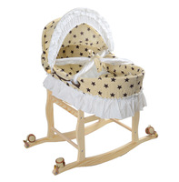 Crib Bed Portable Baby Cradle Extended Edition Baby Sleeping Basket Newborn Bed Mother And Baby Wholesale