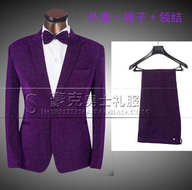 Popular Mens Purple Blazer-Buy Cheap Mens Purple Blazer lots from ...
