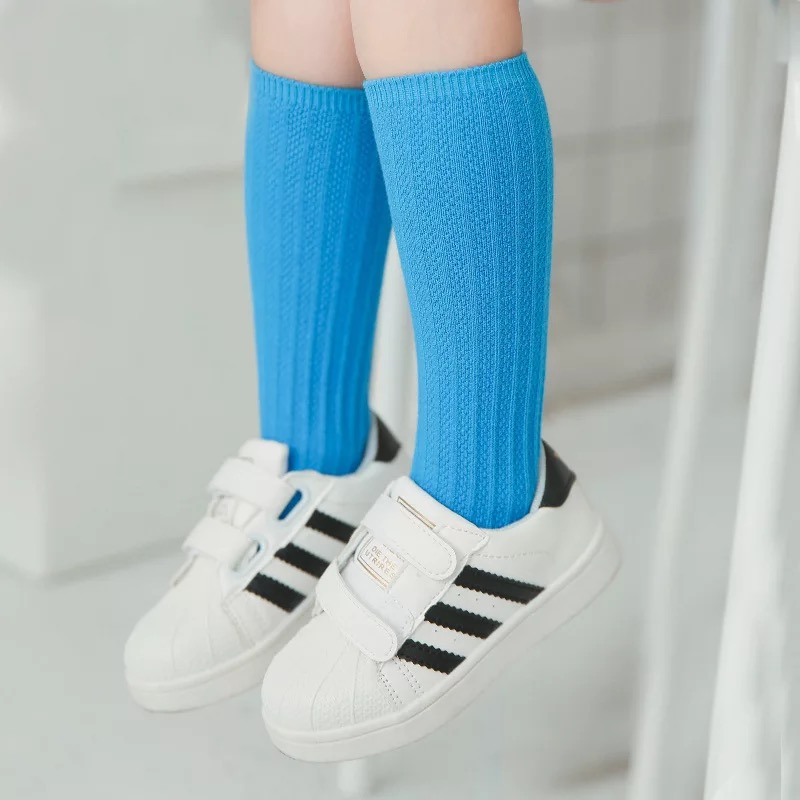 Kids-Long-Socks-Knee-High-toddler-Girls-Boot-Sock-Leg-Warmer-Cute-Candy-color-Baby-Solid-Cotton-Sock-for-baby-Girls-Sloth-socks-1
