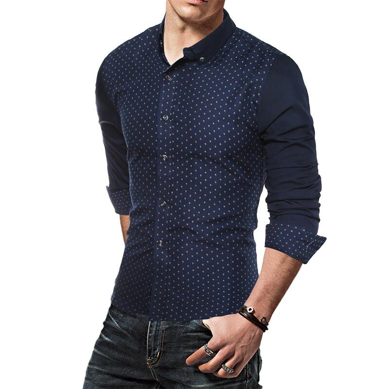 Mannen shirt 2019 zomer nieuwe mode casual lange mouw mannen - Herenkleding - Foto 6