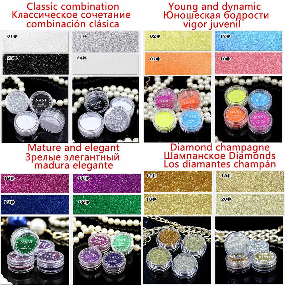 1 Botol Emerald 23 Warna Eyeliner Cair Pensil Tahan Air Tahan Lama Eye Liner Pensil Halus Makeup Komersial untuk Eyeshadow dr