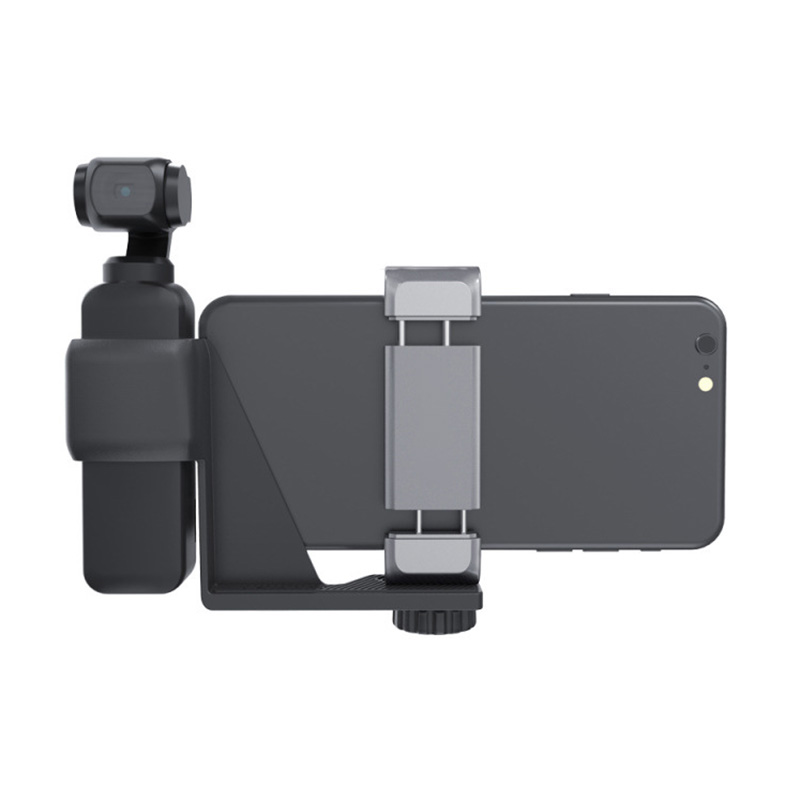 OSMO Pocket Handheld Camera Phone Holder Bracket Fixed Stand For iPhone X XS Mobile Android Phone Pocket Accessories