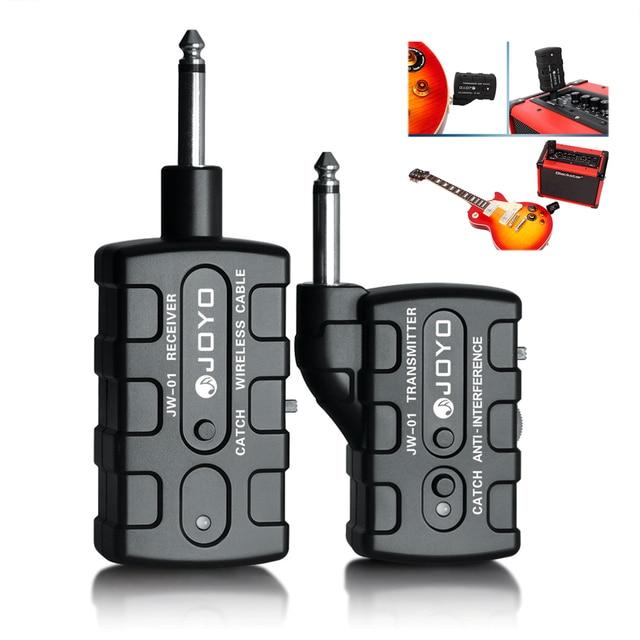JOYO JW-01 Digital Bass Guitar Keyboard Wireless 2.4GHZ 4 Channels Anti-interference Transmitter System Receiver