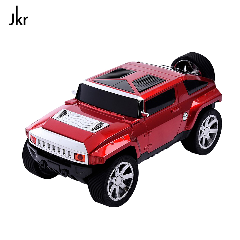 DS-580BT Jeep Car Model Bluetooth Speaker Stereo Hifi Portable Subwoofer Wireless Loudspeaker TF USB MP3 Music Player FM