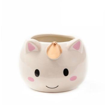 LuckyVin Ceramic Coffee Mug  Unicorn Shaped Cup Girl Woman Gift Water Cup for Office Drink Drinking Glass Mugs  Coffee Mug 1