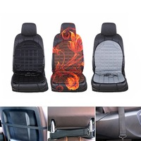 Dongzhen 1X Car Heated Seat Cushion Electric Seat Pad Winter Heater Warmer Auto Heated Seat Covers