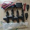 New Car Styling 2 Master 2 Universal Auto Travamento Central Kit Sistema de Segurança Alarme para Porta Do Carro Desbloquear Sem Controle Remoto controle