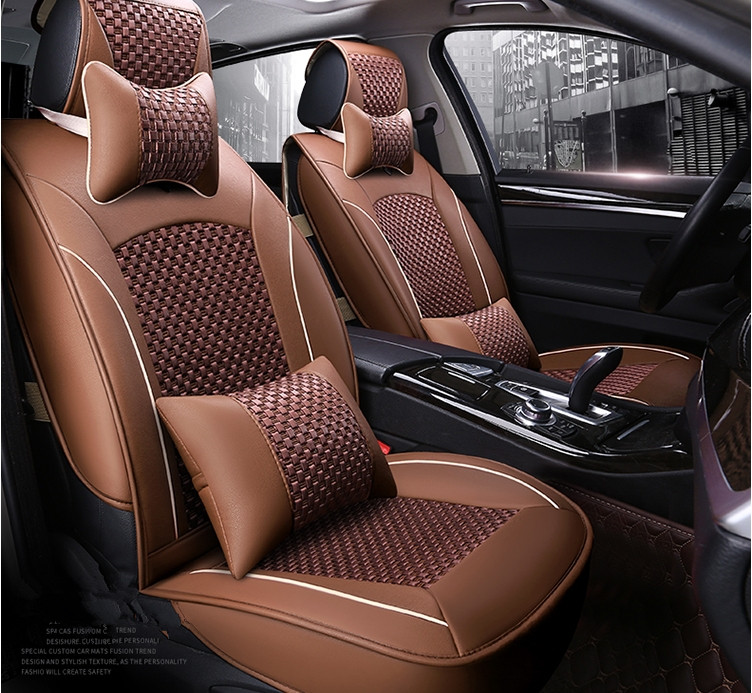 Remarkable Good Quality Full Set Car Seat Covers For Ford Fusion 2016 Machost Co Dining Chair Design Ideas Machostcouk