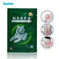 48 piezas Vietnam blanco bálsamo de tigre médico yesos chino de artritis cuerpo articulaciones alivio del dolor Capsicum parches ungüento D0965