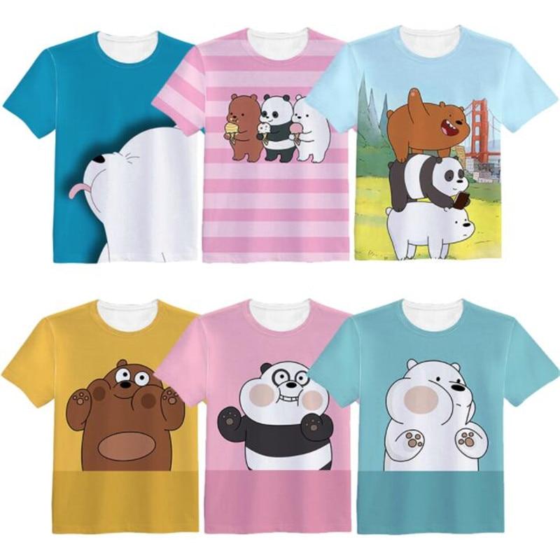 Woman Man We Bears Movie Lovely Printing Custom Made T-shirt Tees Christmas Gift Bare Fancy Bears
