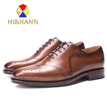Italia Goodyear Craft Genuine Calf Leather men shoes Hand Made lace-up Men's Formal Dress Wedding Shoes Three color freeshipping
