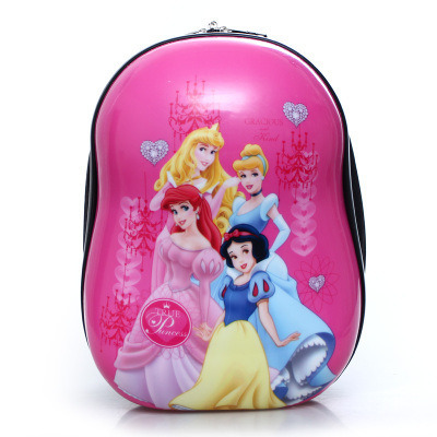 2019 Cute Cartoon Elsa Primary Children <font><b>School</b></font> Bags <font><b>For</b></font> Girls 3D Printing Waterproof Hard Shell <font><b>Kids</b></font> Orthopedic <font><b>Backpacks</b></font> image