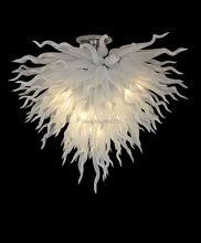 лучшая цена Free Shipping Elegant Home Lighting White Chihuly Style Chandelier
