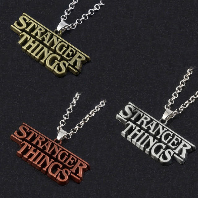 STRANGER THINGS NECKLACE (3 VARIAN)