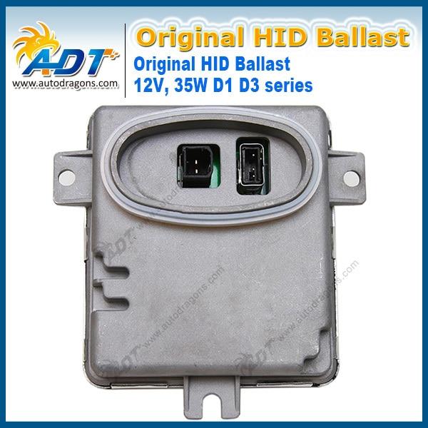 HID Bloques D1/D3 control 12V35W Balastos Hid OEM 6948180/63126948180/W3T13271 3-series (E90/E91) Sedan/Wagon para BMW