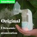 Original casa medical ultrasonic atomizador inalador nebulizador umidificador de ar tratamento de crianças and adulto doenças respiratórias