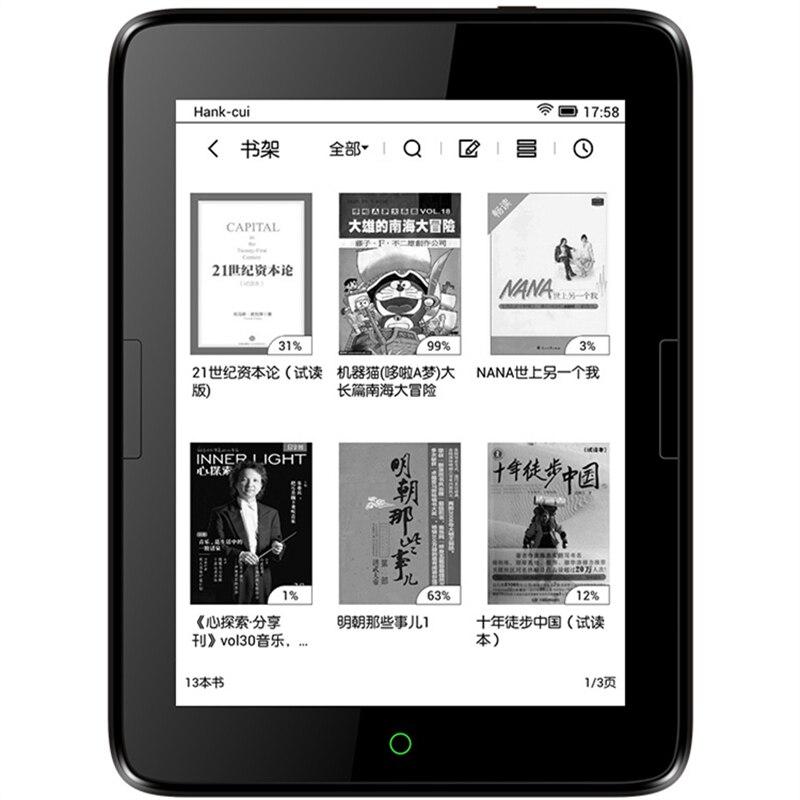 ใหม่ eReader Android 4.2 e หนังสือ e ink 6 นิ้ว 6GB e book 300ppi touch screen backlight 1448x1072 หนังสือ Reader-ใน เครื่องอ่าน eBook จาก อุปกรณ์อิเล็กทรอนิกส์ บน AliExpress - 11.11_สิบเอ็ด สิบเอ็ดวันคนโสด 1