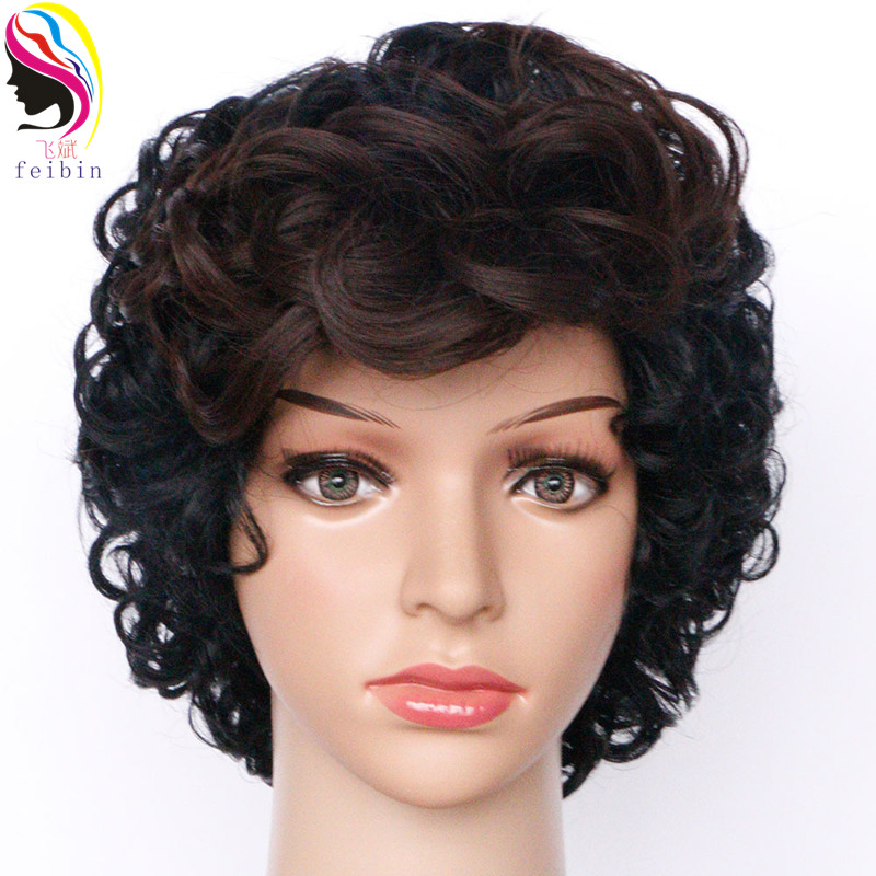 US $15.59 40% OFF|Feibin Short Wigs For Black