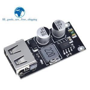 Image 2 - USB QC3.0 QC2.0 USB DC DC понижающий преобразователь зарядный понижающий модуль 6 32 в 9 в 12 В 24 В для быстрой зарядки печатная плата 5 В