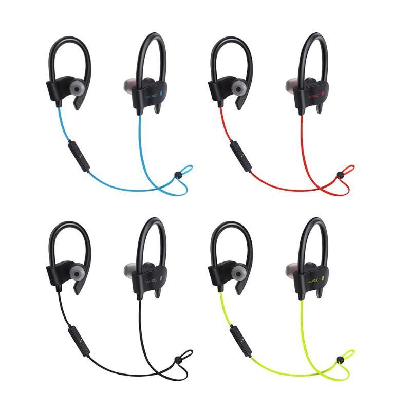Sports Earphones 56S Wireless Bluetooth Earphones Waterproof Headphone Sport Running Headset Stereo Bass Earbuds with Mic цена
