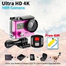 """Nueva Llegada! Original H8/H8R Ultra HD Cámara de la Acción con 4 K 30FPS resolución 30 m waterporoof 2.0 """"pantalla delgada deporte Cámara"""