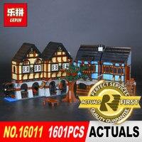 Lepin 16011 1601Pcs Classic The Movies Series Medieval Market Village Building Blcoks Bricks Toys Model 10193