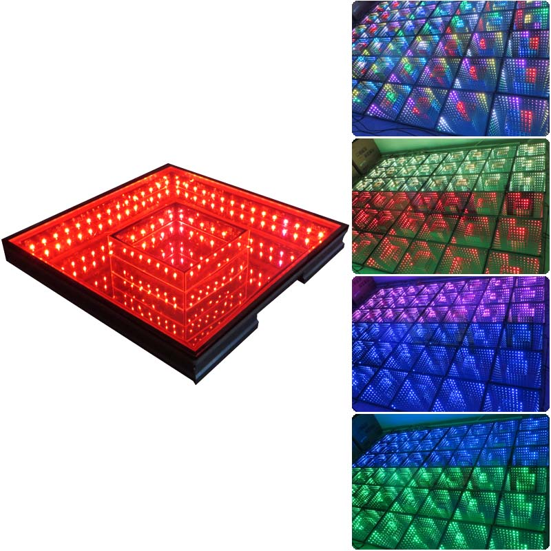 Timmer Tunnel 3d Magic Led Music Dance Floor For Wedding Disco Nightclub