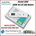 Más barato a estrenar original desbloquear lte fdd 100 alcatel l800 4g lte 100mbps módem usb y 4g lte dongle