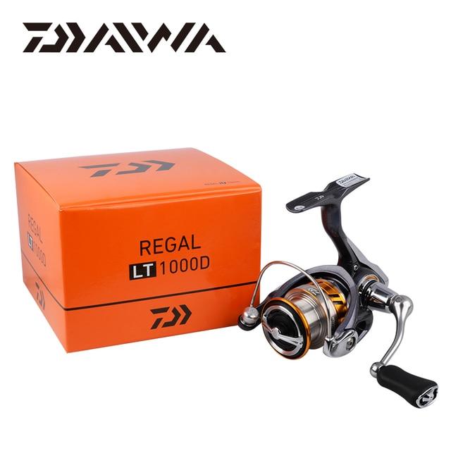 DAIWA REGAL LT fishing spinning reels 1000D 2000D 2500D 2500DXH 3000DC 3000DCXH 10BB Air Rotor Aluminum Spool Fishing wheels 6