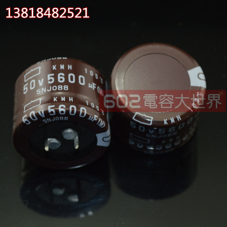 2019 Hot Sale 4PCS/10PCS Japan NIPPON Electrolytic Capacitor 50v5600uf KMM 105 35*30 5600uf 50v Free Shipping