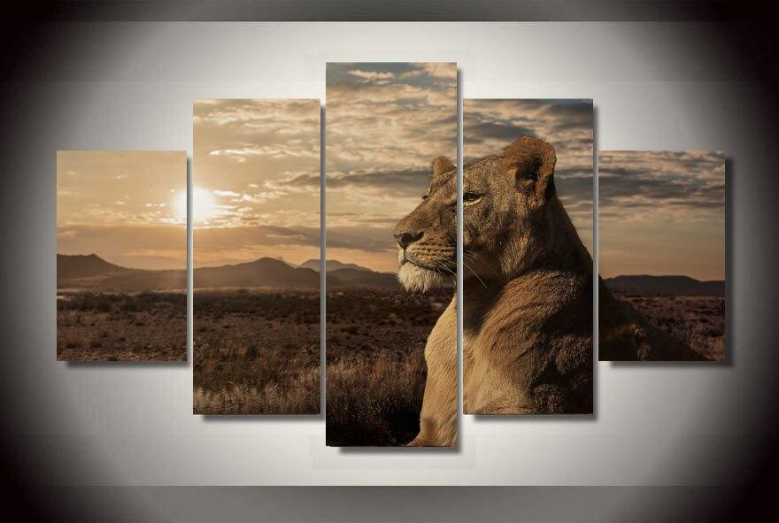 Resultado de imagem para quadro do leão