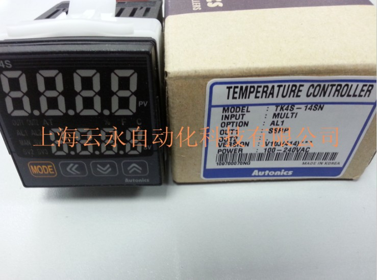 New original authentic TK4S-14SN  Autonics thermostat temperature controller new original authentic cylinder cdq2wb32 30d