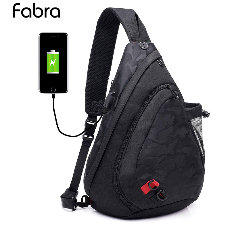 Large Capacity Chest Bag For Men&Female Nylon Sling Bag Casual Crossbody Bags For Short Trip 2018 Hot Sale Casual Waist Pack