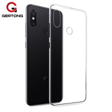 Crystal TPU Case for Xiaomi Pocophone F1 Mi8 SE Mi A2 A1 Mi8 Explore Mi5X 6X Mi6 Plus Mix2 Max 2 Mix Mi5C Mi5S Ultra Slim Cover(China)