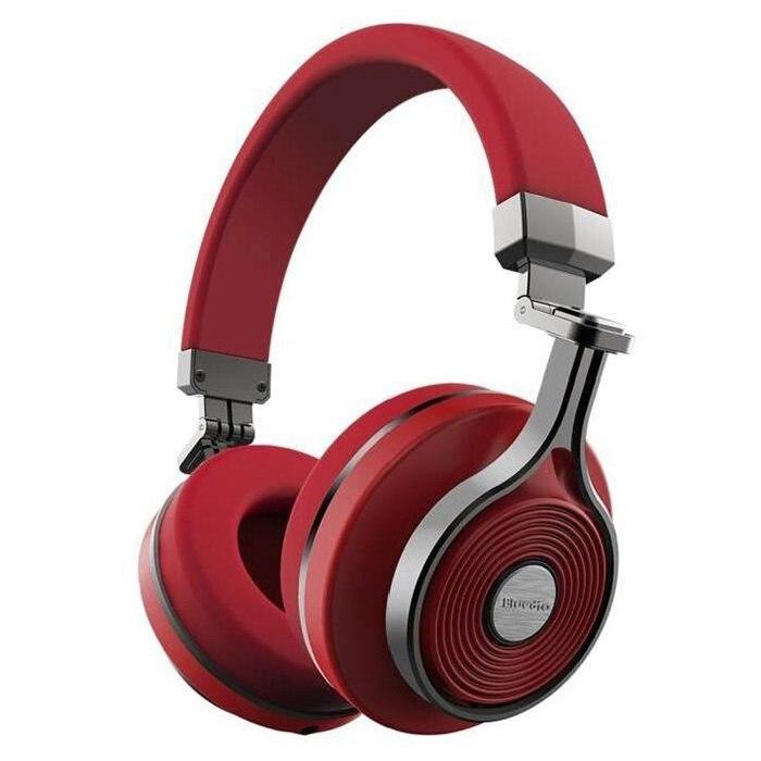 Bluedio T3 (3rd) casque stéréo sans fil Bluetooth 4.1 (rouge)