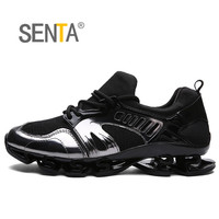 SENTA Blade Warrior Running Shoes For Men Breathable Mesh Cushioning Sneakers Men Women Professional Athletic Shoes
