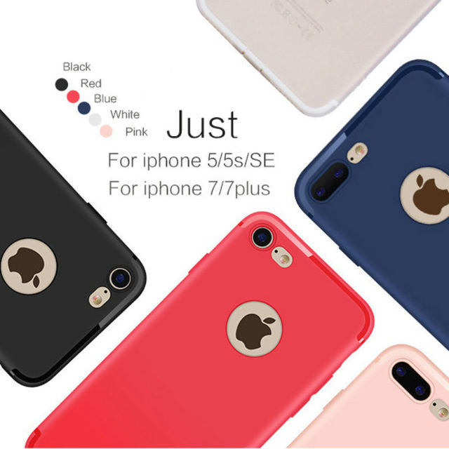 Slim Silicone Case fPhone Case for Apple iphone 7 plus