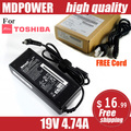 MDPOWER For TOSHIBA Portege R830 T111 T112 laptop power supply power AC adapter charger cord 19V 4.74A