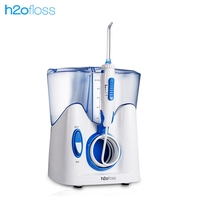 H2ofloss HF 8 oral irrigator 12 pieces nozzle dental water irrigator water 800ml oral hygiene dental Flosser water floss