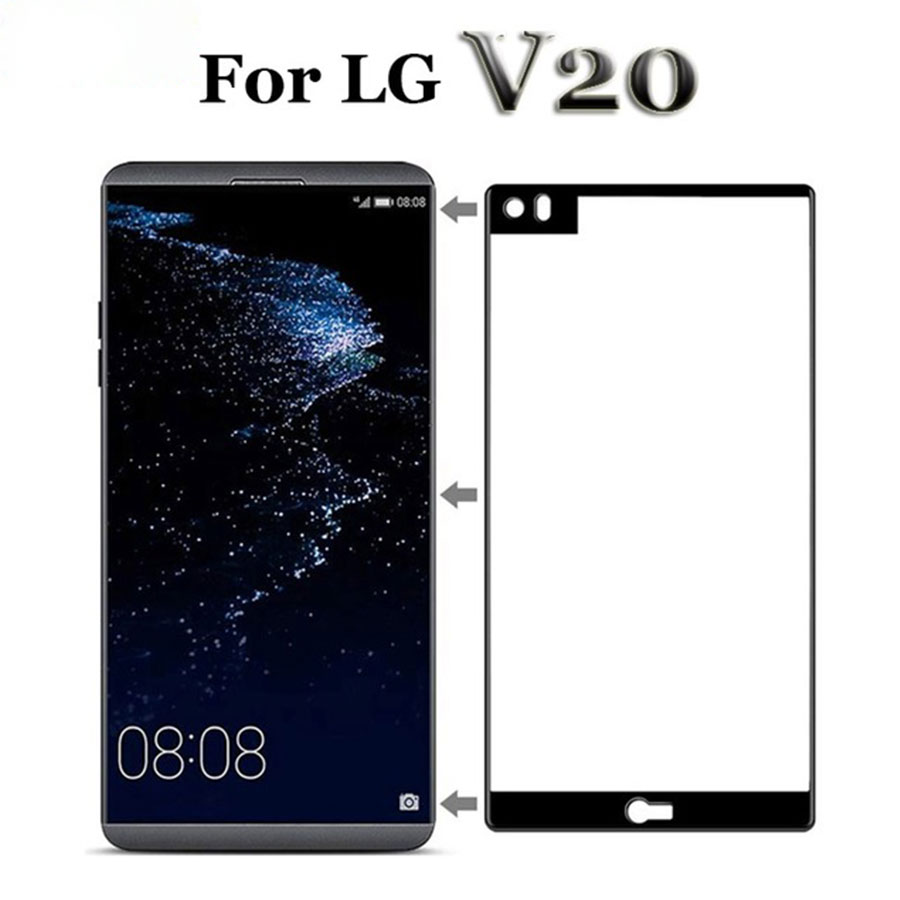 For LG V20 Tempered Glass Screen Protector For LG V20 V 20 20V LGV20 V20LG Protective Glass Film 9H Full Cover Protection Glas