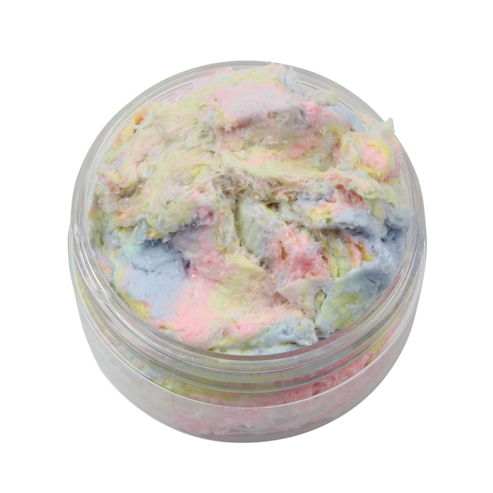 HIINST Colorful Mixing Cloud Cotton Candy Slime Squishy Scented Stress Kids Clay Toy APR11 drop shipping