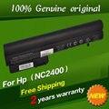 Envío libre eh767aa hstnn-fb21 hstnn-xb21 hstnn-xb22 rw556aa batería original del ordenador portátil para hp 2540 p 2533 t 2400 2510 p 10.8 v 83wh