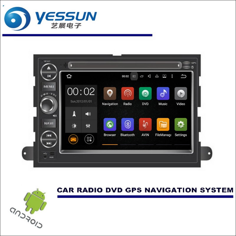 YESSUN For Ford Edge / Explorer 2006~2010 Wince / Android Car Media Navigation CD DVD GPS Player Navi Radio Stereo HD Screen