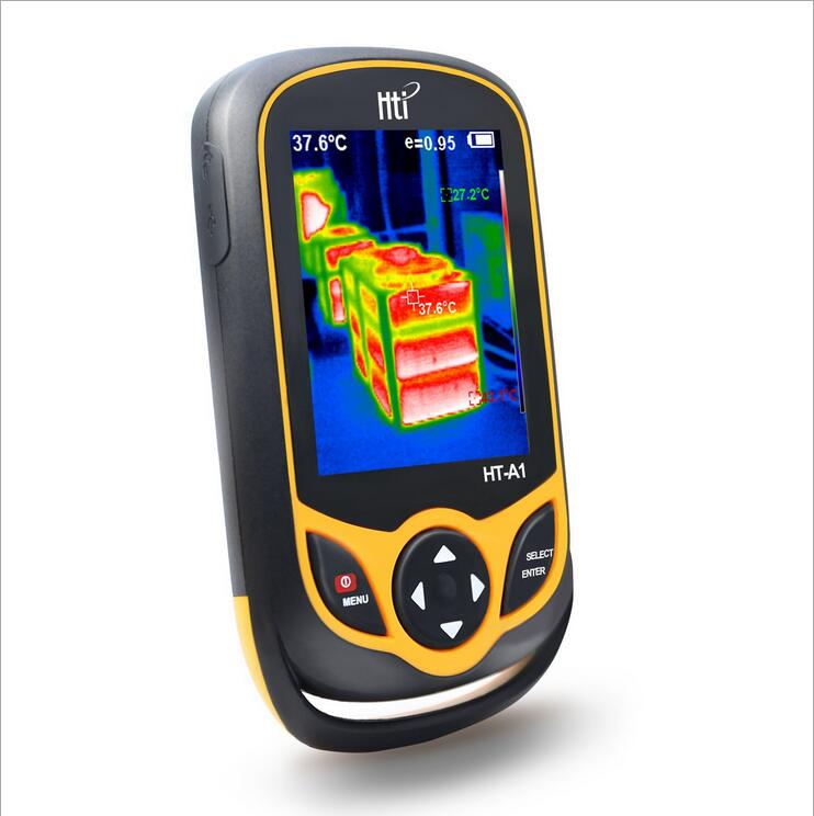 HT02 Digital Infrared Thermography Thermal Camera With 2-4 inch Color Lcd Display 16