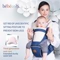 Bebear novo hipseat evitar o-as pernas do tipo 6 em 1 carry estilo de carga 20Kg poupar esforço Ergonômico Exclusivo de portadores de bebê miúdo estilingue