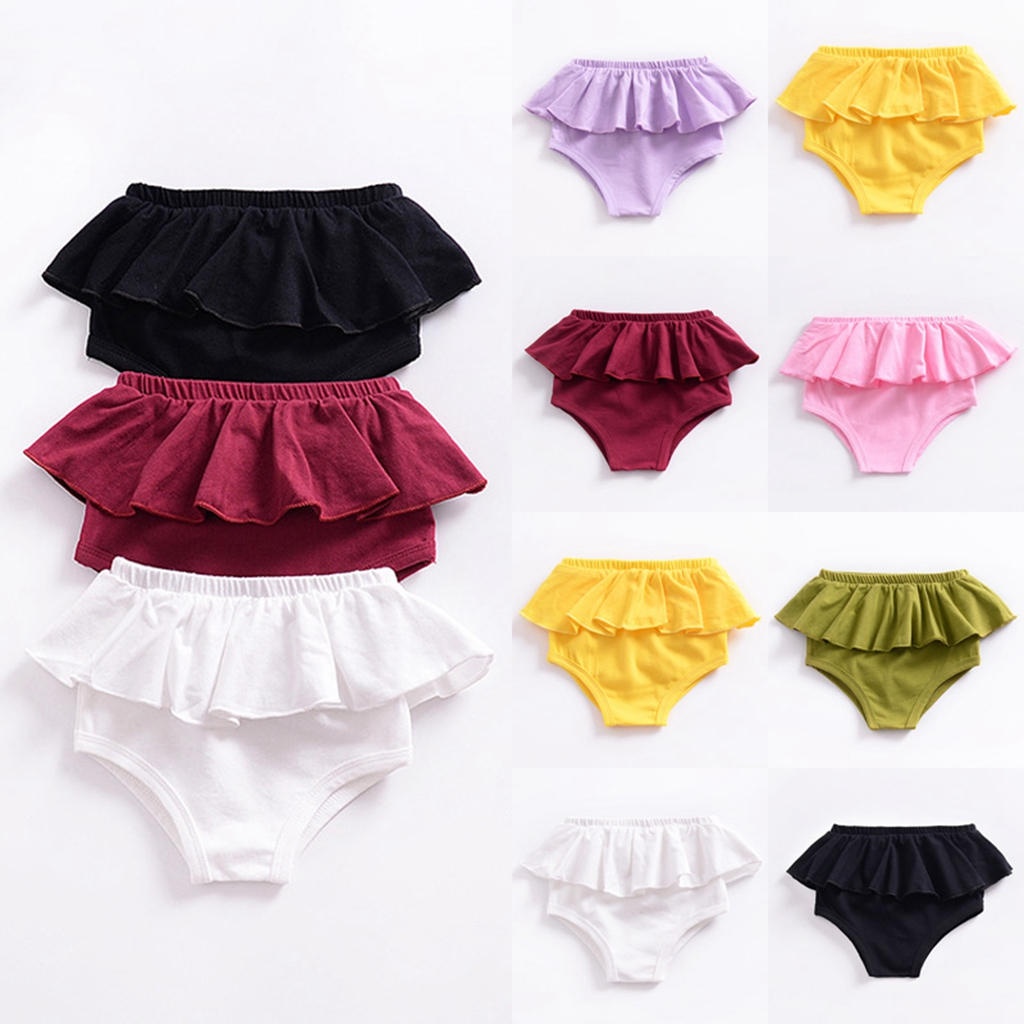 Infant Baby Boy Girl Kids Harem Pants Shorts Bottoms PP Bloomers Kids Panties