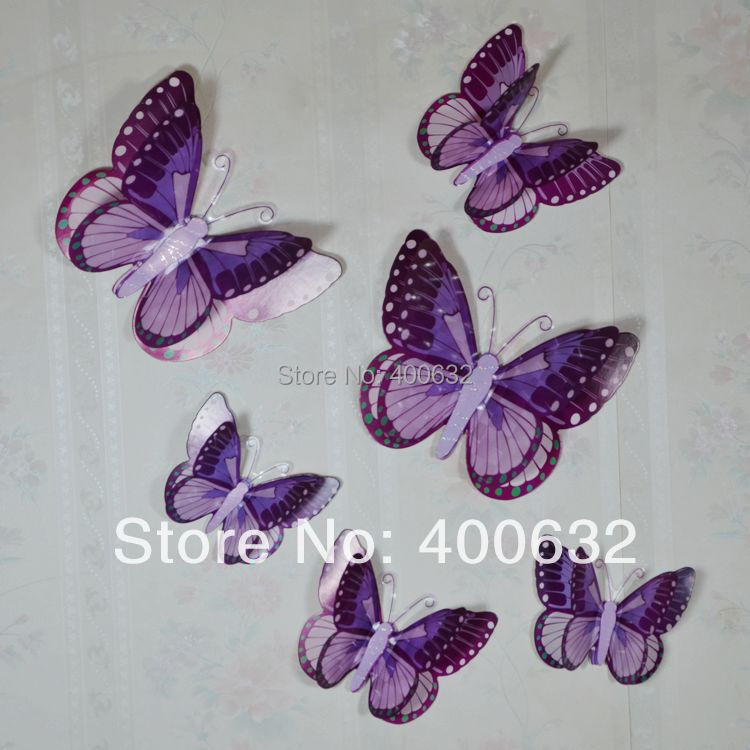 Free Shipping New Removable 3d Wall Stickers Home Decals Diy Wall