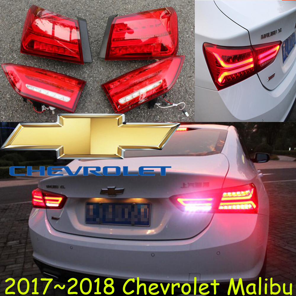 Malibu XL Taillight,2017 2018year,led,Free ship!Malibu fog light;chrome,Malibu tail lamp,Astra,avalanche,blazer,venture,cruze цена и фото